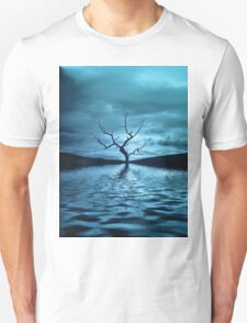 Tree Blue Unisex T-Shirt