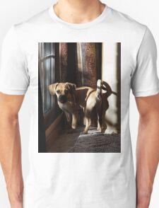 Puggle Dog Portrait Unisex T-Shirt