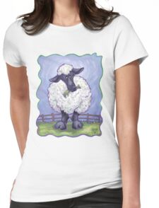 Animal Parade Sheep Womens Fitted T-Shirt