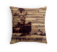 Fabulous Lion Throw Pillow