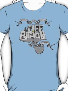 PyCon Australia Hobart 2012 T-Shirt
