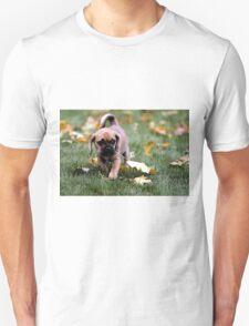 Puggle Puppy Dog Portrait Unisex T-Shirt