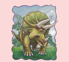 Animal Parade Triceratops Kids Tee