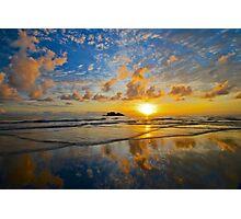 Daintree sunrise reflections Photographic Print