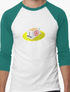 Alfonso the Mouse Men's Baseball ¾ T-Shirt