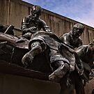Sculpture in front of the Australian War Memorial (6) by Wolf Sverak