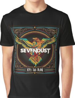 Sevendust Kill The Flaw Album Graphic T-Shirt