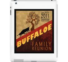 Buffaloe Family Reunion 2011 iPad Case/Skin