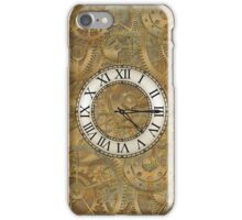 Clock parts iPhone Case/Skin