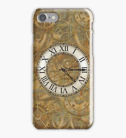 Clock parts iPhone Case/Skin