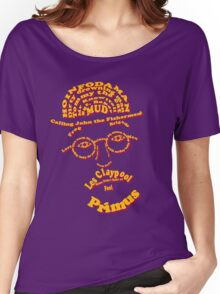 Les Claypool Typography Women's Relaxed Fit T-Shirt