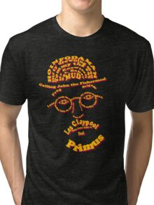 Les Claypool Typography Tri-blend T-Shirt