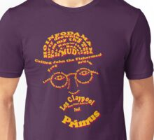 Les Claypool Typography Unisex T-Shirt