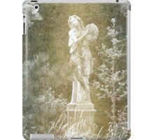 Statue of a Lady by a Pond iPad Case/Skin
