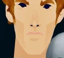 Hamlet (Benedict Cumberbatch) Sticker