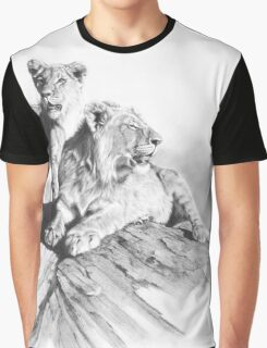 Double Trouble Graphic T-Shirt