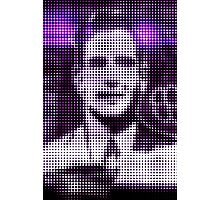 "Pixels Print ""FACE OF MAN V"" Photographic Print"