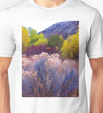 Bold and Bright Earthtones Unisex T-Shirt
