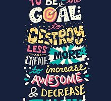 Increase Awesome, Decrease Suck by Risa Rodil