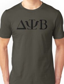 Delta Psi Beta black Unisex T-Shirt