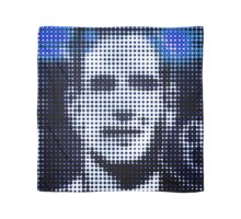 "Pixels Print ""FACE OF MAN VI"" Scarf"