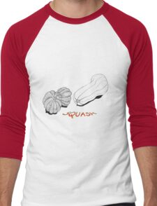 Squash Men's Baseball ¾ T-Shirt