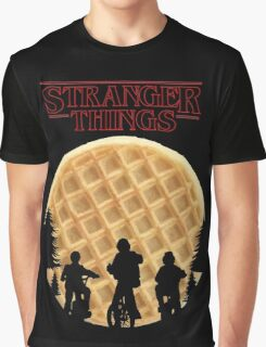 stranger things waffle Graphic T-Shirt