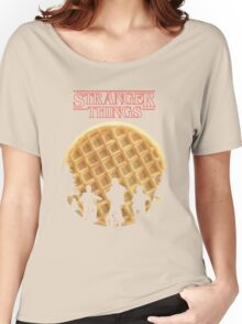 stranger things waffle Women's Relaxed Fit T-Shirt