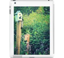 bird house garden iPad Case/Skin