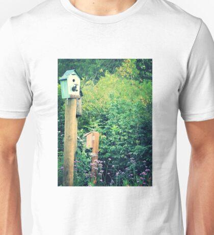 bird house garden Unisex T-Shirt