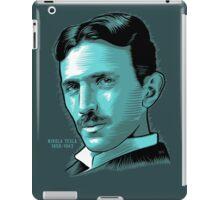 Nikola Tesla Portrait Science Electrical iPad Case/Skin