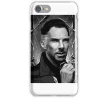 Doctor Strange MG (b+w) iPhone Case/Skin