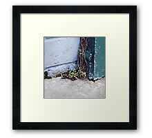 { Corners: where the walls meet #15 } Framed Print