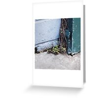 { Corners: where the walls meet #15 } Greeting Card
