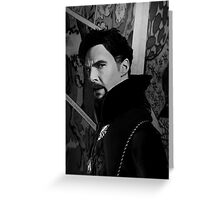 Doctor Strange ShSpesh Comic (b+w) Greeting Card