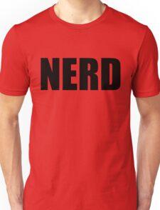 NERD T Shirt - Black Font Unisex T-Shirt