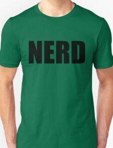 NERD T Shirt - Black Font T-Shirt
