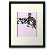 Youre Hugging Me! - Kermit, Jenna Marbles Framed Print