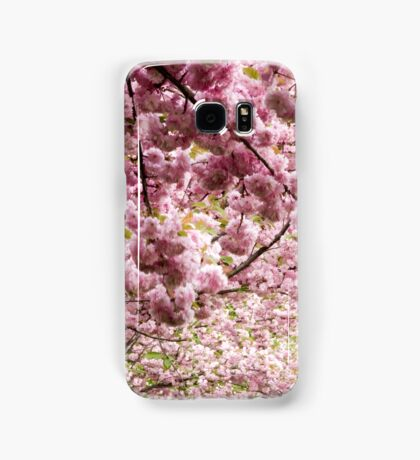 Cherry blossoms in Milan, Italy Samsung Galaxy Case/Skin