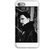 Doctor Strange ShSpesh Comic (b+w) 3 iPhone Case/Skin