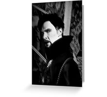 Doctor Strange ShSpesh Comic (b+w) 3 Greeting Card