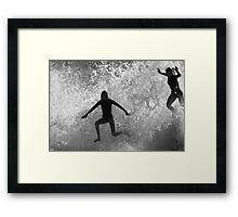 Leap Of Faith #3 Framed Print