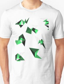 Green Geometric T-Shirt