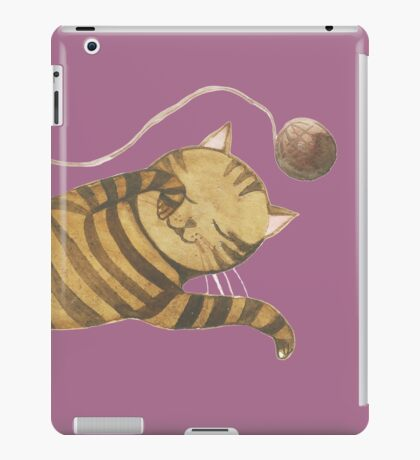Cat & Mouse Sleeping 1 iPad Case/Skin