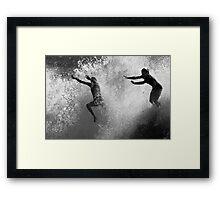 Leap Of Faith #1 Framed Print