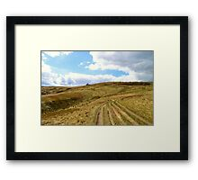 Yorkshire Moors, Top Withens, Nr. Haworth Framed Print