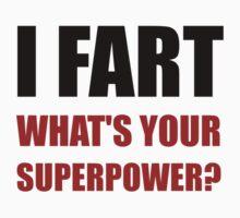 Fart Super Power Kids Tee