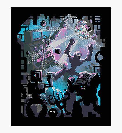 Robo Disco Photographic Print