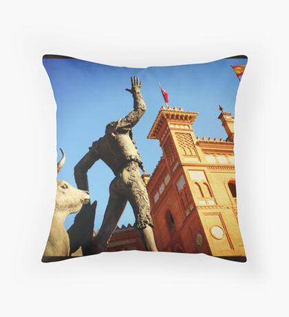 Plaza de Toros de Las Ventas Throw Pillow
