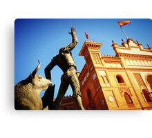 Plaza de Toros de Las Ventas Canvas Print